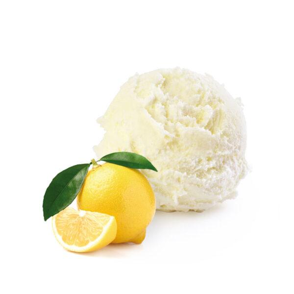 gelato artigianale ai limoni di sicilia senza latte yoghi gelateria palermo