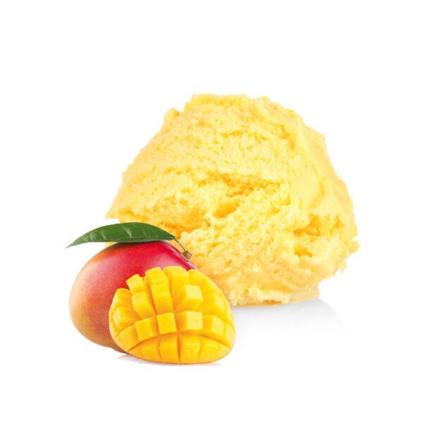 gelato artigianale al mango alphonso yoghi gelateria palermo
