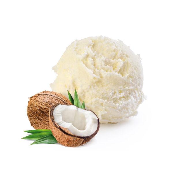 gelato artigianale al cocco yoghi gelateria palermo